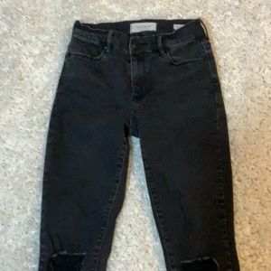 Black Pacsun Ripped Style Jean